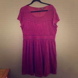 Torrid Classic Boho Purple Lace Lovers Dress 18